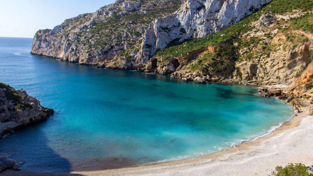 La Granadella, une delle spiagge più belle della Costa Blanca