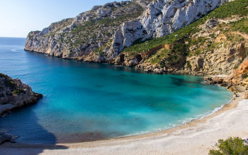 La Granadella, l'une des plus belles plages de la Costa Blanca