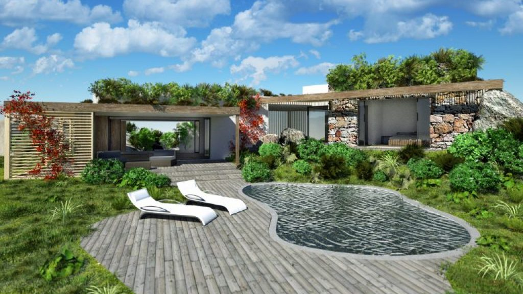 Newly built eco-villa for sale in Sardinia