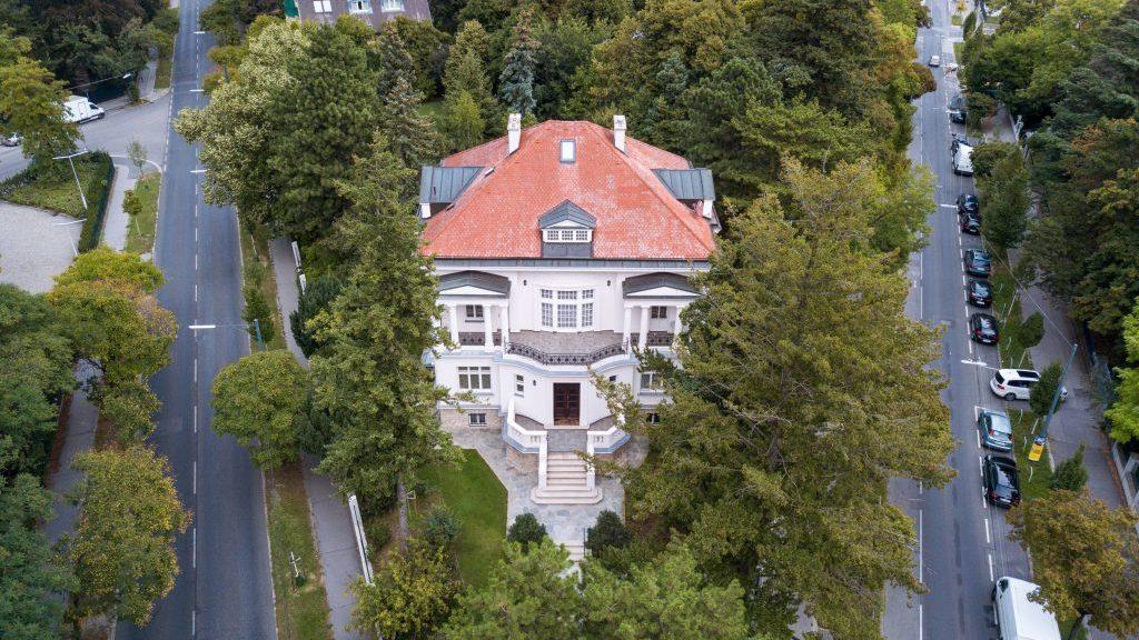 Villa de luxe - Photographie aérienne par drone