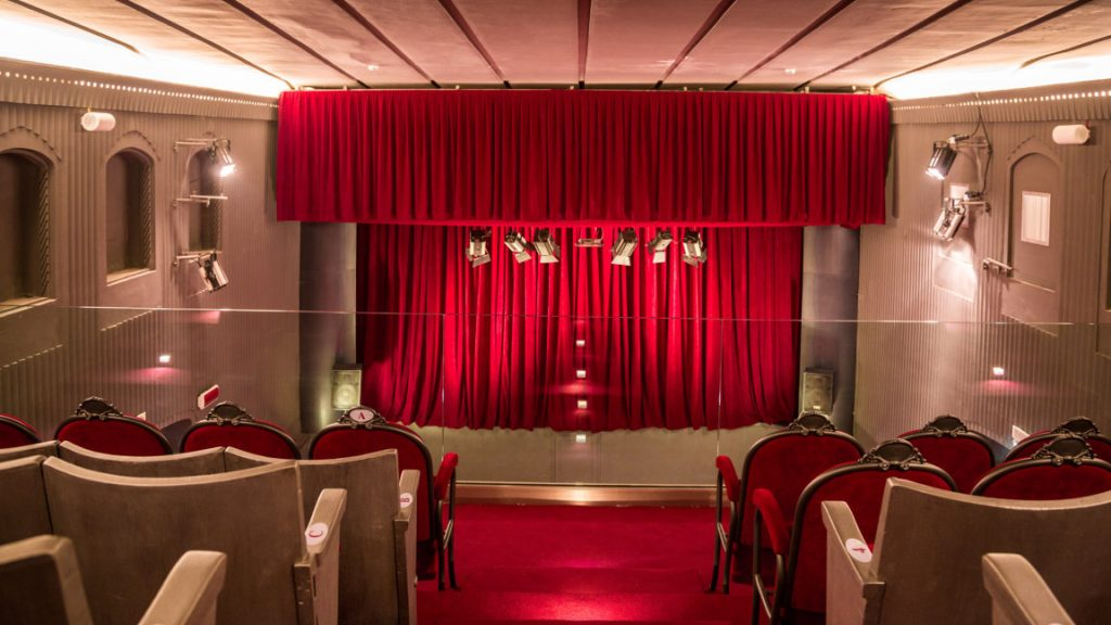 Loge des Theaters Flaiano