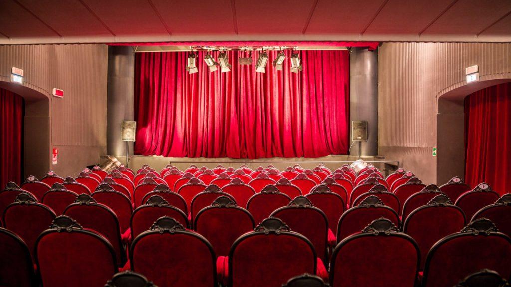 Salle parterre du Théâtre Flaiano, Rome