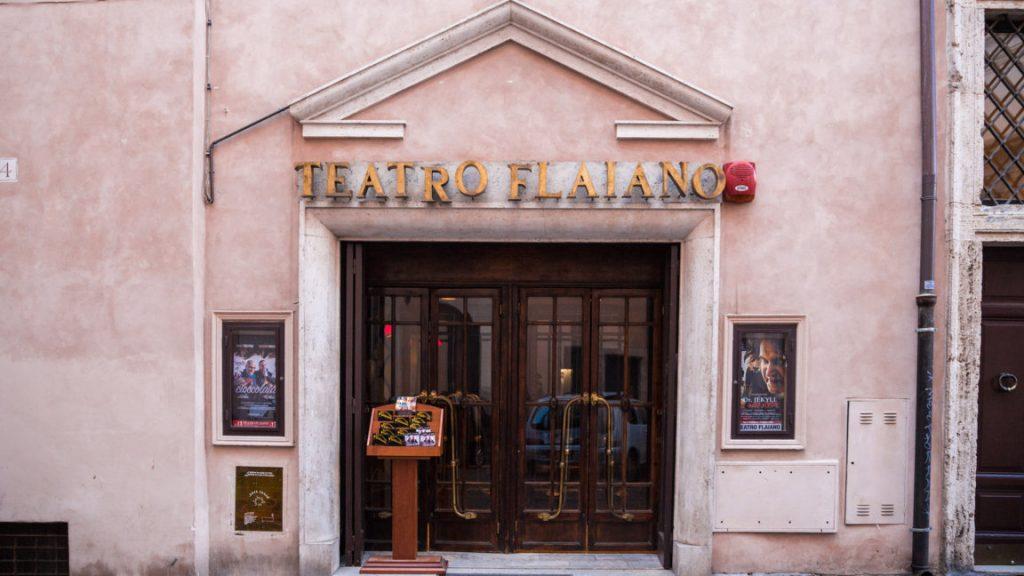 Théâtre historique dans le centre de Rome