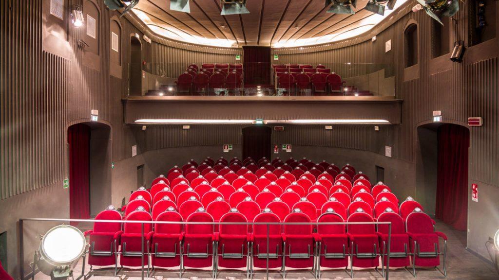 Salle de spectable du Théâtre Flaiano à Rome
