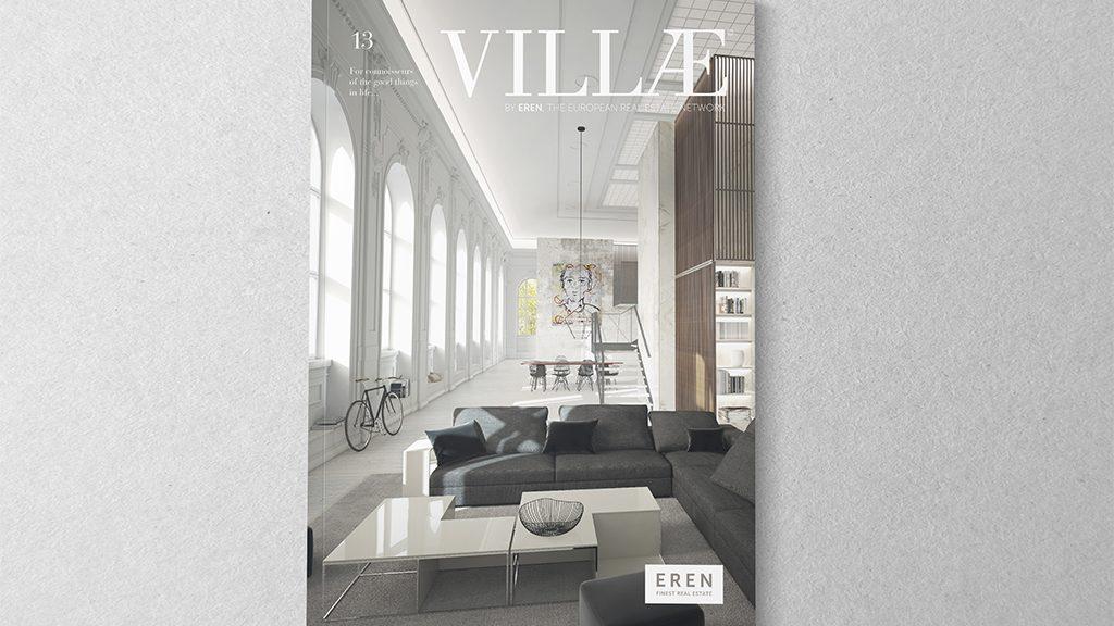 Luxe, décoration d'intérieur et technologie dans le magazine Villae 13