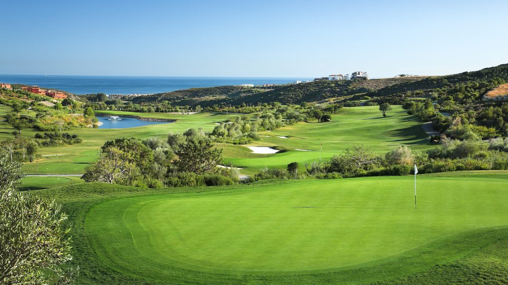 Golf course in Finca Cortesin