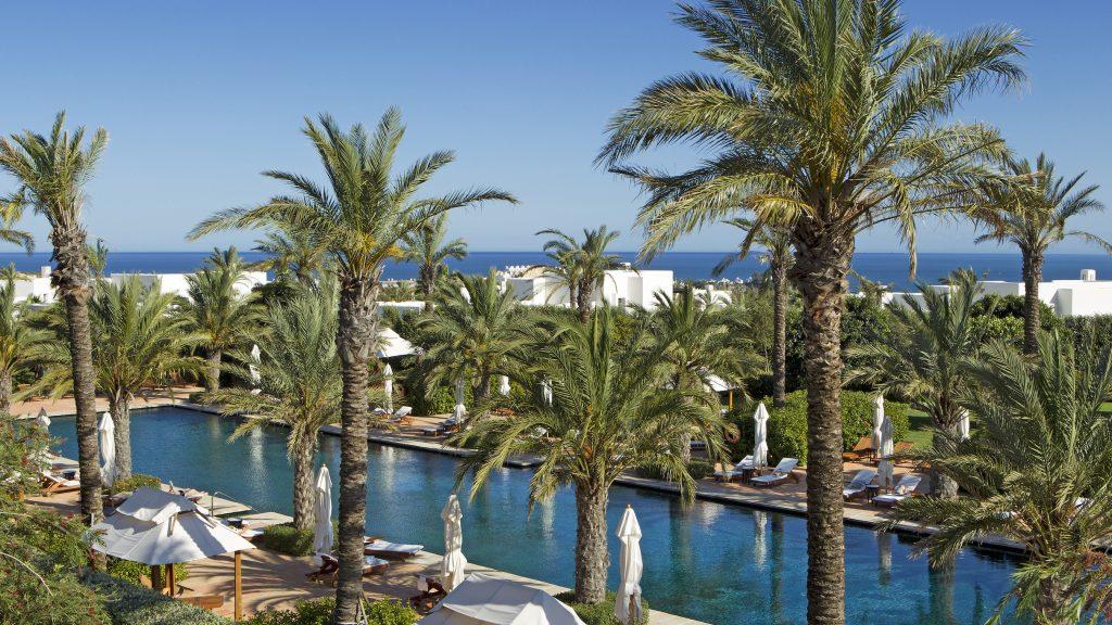 Pool in Finca Cortesin Golf & Hotel