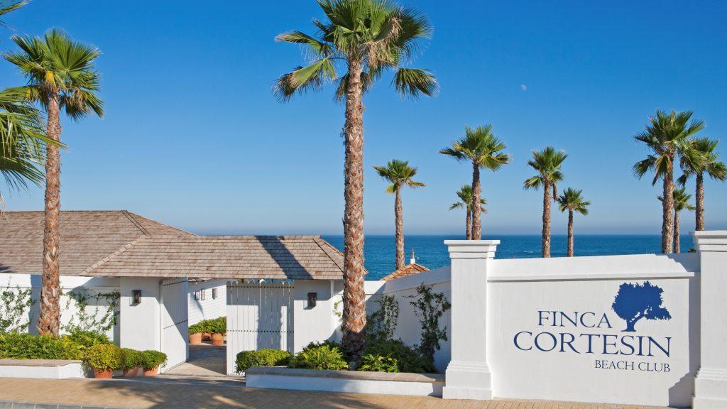 Beach Club in Finca Cortesin Golf & Hotel, Bahía de Casares