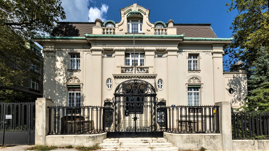 Palais Pick :historic mansion in Vienna