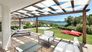 Grande terrasse avec belle vue