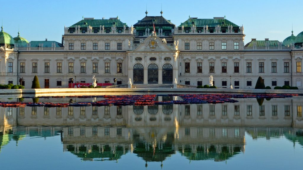 Belvedere Palace- Vienna, best quality-life city worldwide