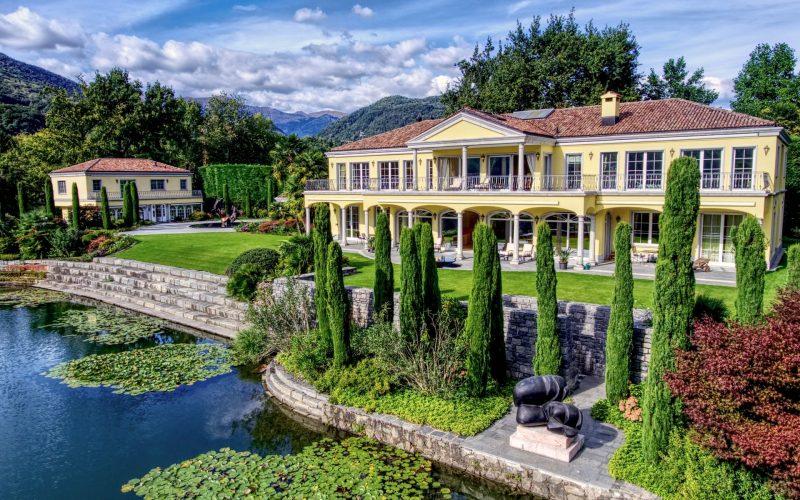 Luxury villa in Ticino