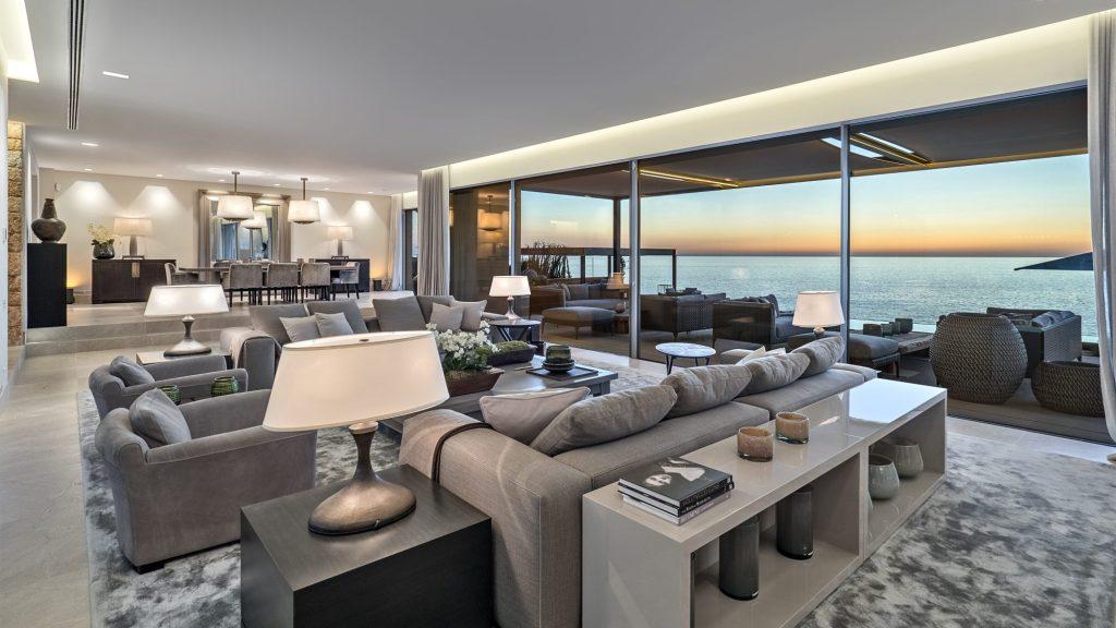 Lounge with sea views - Villa for sale in Cap adriano, Mallorca