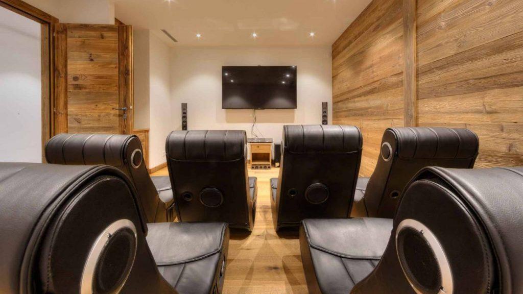 Cinema room of the house