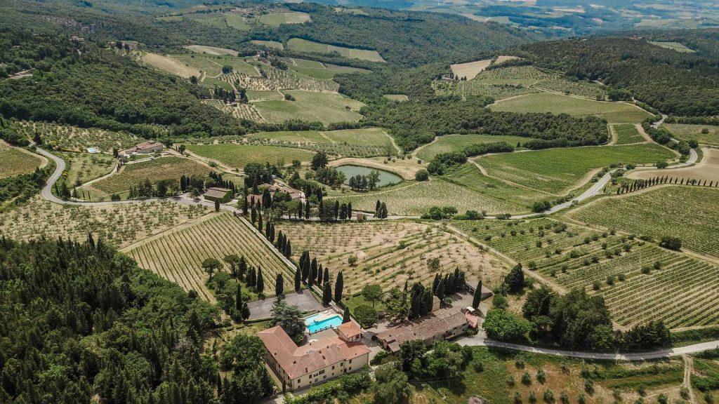 Wine estate in the Tuscany in Chianti Classico