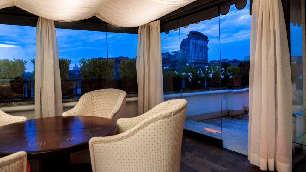 Lounge area with impressive views