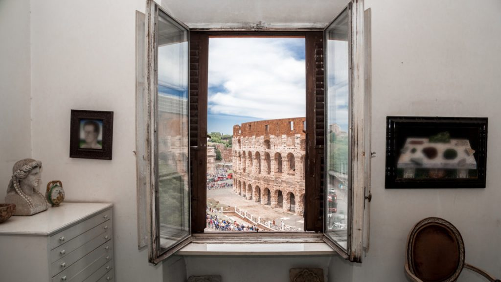 Colosseum views from the atelier