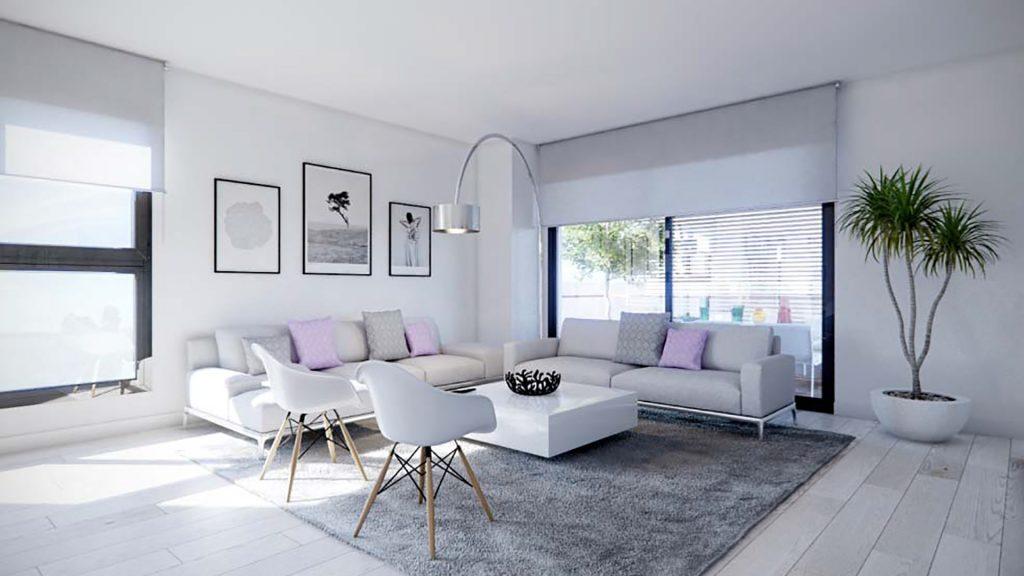 DiagonAlt - Spacious lounge area