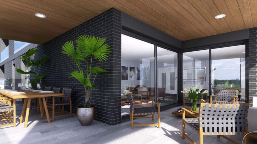 DiagonAlt - flats with private terraces