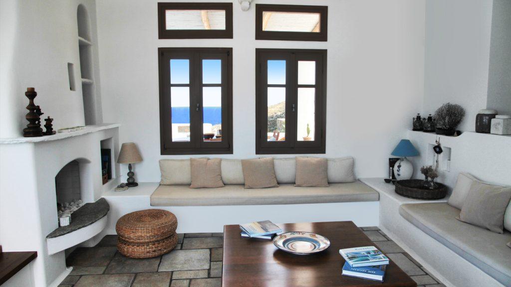 Casa with elegant interior design in Kythnos
