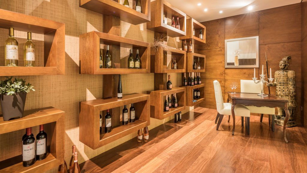 Wine cellar of this magnificent property