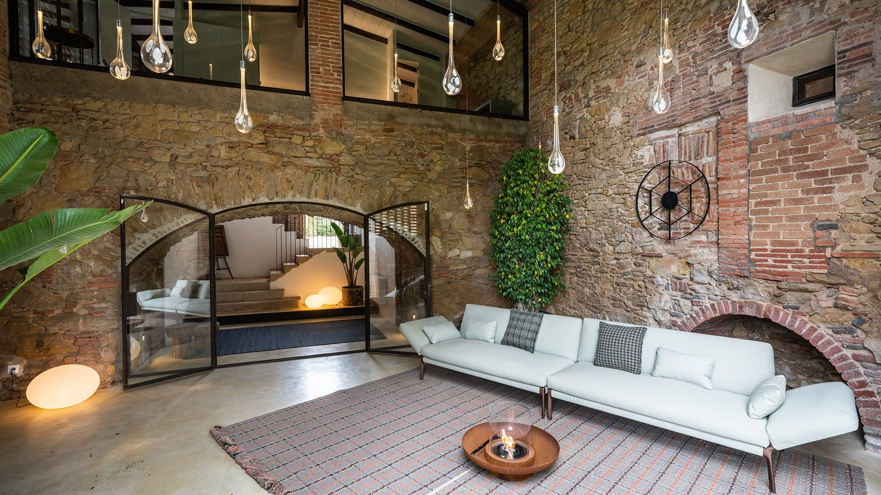 Interior design with natural elements