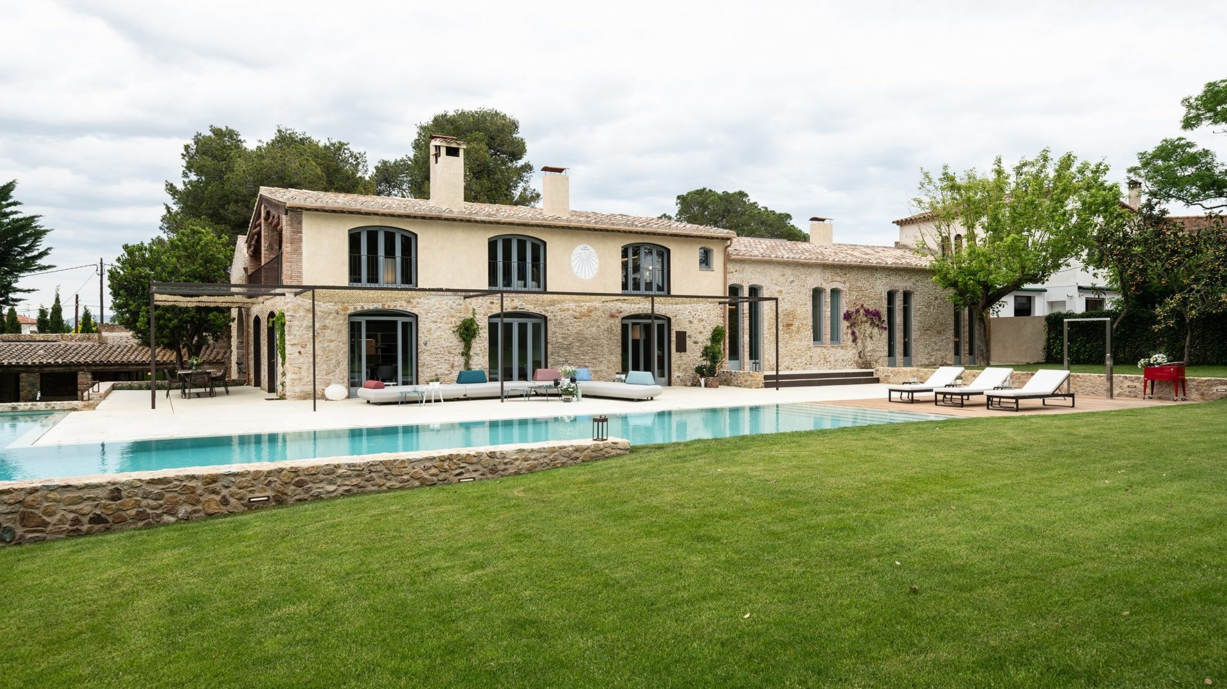 House with pool and garden in Pals, Girona