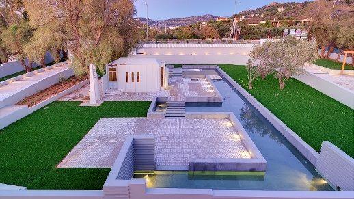 Modern design villa in Attica