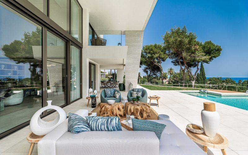 Luxury villa in Marbella's Golden Mile