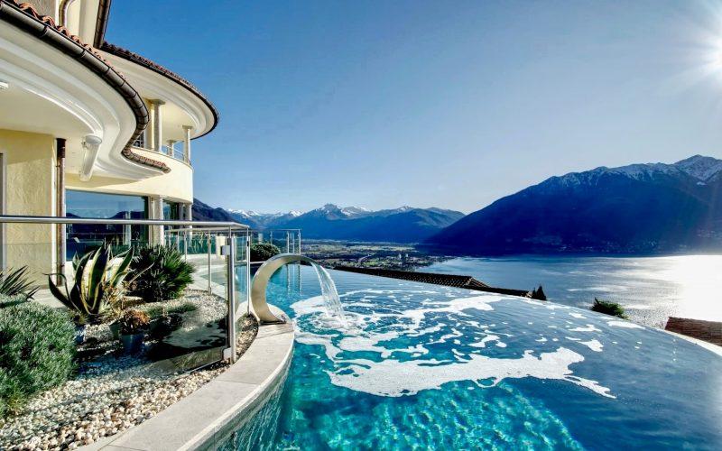 Mediterranean villa in the Ticino