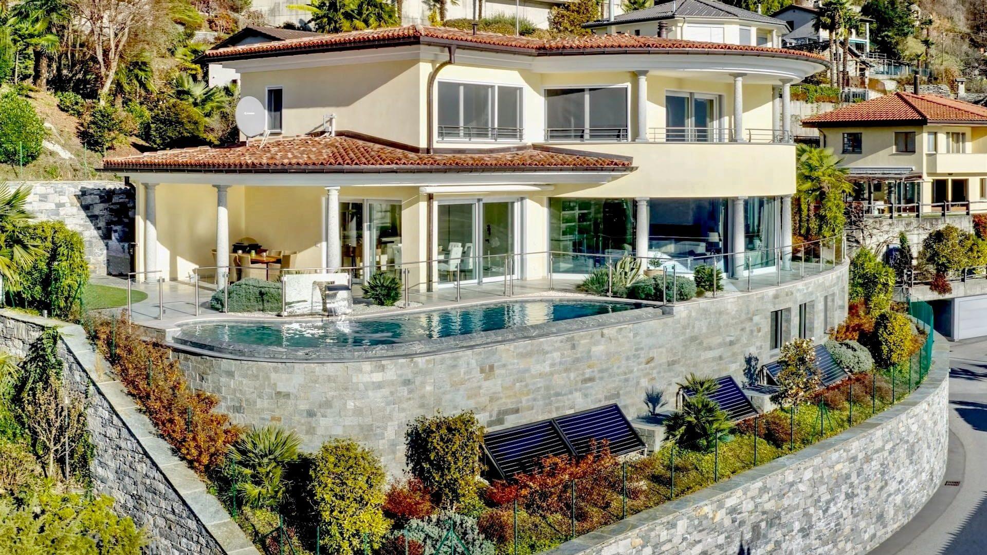 Modern villa with Mediterranean touches